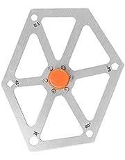 Såg Vinkel Finder Ruler Multi Angle Gauge Protractor aluminiumlegering Hexagon träbearbetning Measurement Tool Golden