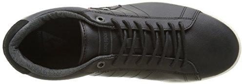 Le Coq Sportif Courtcraft S 2 Tones, Zapatillas para Hombre Negro (Black/ReglisseBlack/Reglisse)