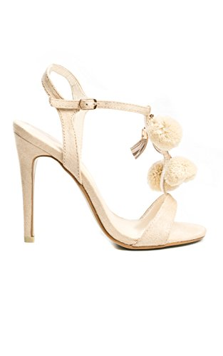 Womens Alea Heels Ikrush Cream Stiletto 4FzqA