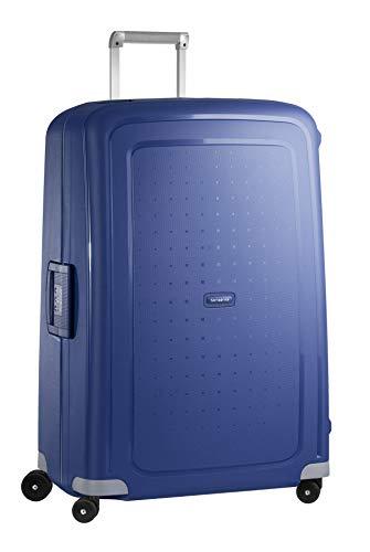 Samsonite S Cure Spinner - Maleta de equipaje, XL (81 cm - 138 L), Azul (Dark Blue)