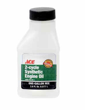 OIL 2 CYCLE 2.6 OZ ACE