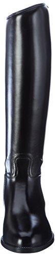 HKM–Botas de equitación para estándar con elástico negro