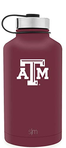 Simple Modern 64oz Summit Water Bottle Texas A&M (Bottle Aggies M)