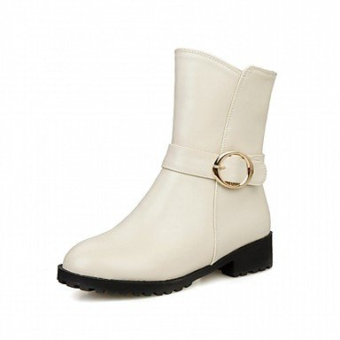 RTRY Plattform US3 5 Hochzeit Damenstiefel EU35 Abend Büro Winter 5Big Frühling Neuheit Komfort Kunstleder Lackleder Casual UK2 Karrierekleid Herbst Kids Amp; Amp; Party SSrqg