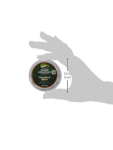 Green Mountain Coffee Roasters Hazelnut Decaf Keurig Single-Serve K-Cup Pods, Light Roast Coffee, 72 Count (6 Boxes of 12 Pods) by Green Mountain Coffee Roasters (Image #9)