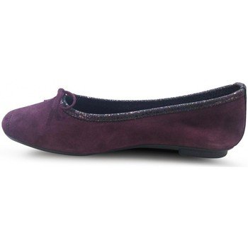 BALLERINES HARMONY PEAU BUBBLE BORDEAUX