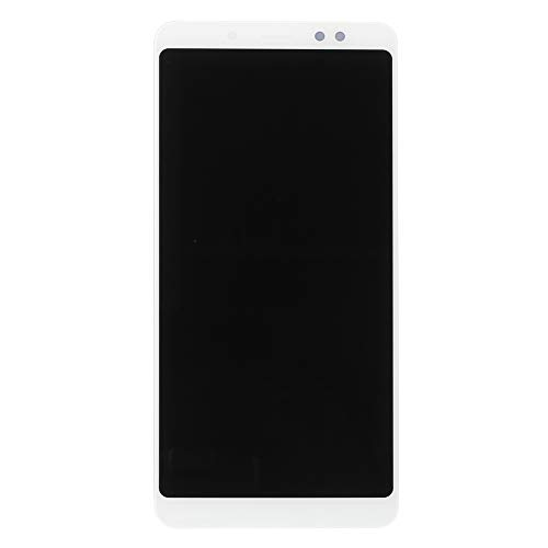 Newsmarts White LCD Replacement Touch Screen Digitizer LCD Display Screen Replacement with Frame for Xiaomi Redmi Note 5 Pro Note 5 (Note3 Screen Replacement Lcd)