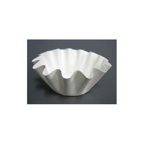 Small White Optima Brioche / Floret Baking Cup, 50 Pcs by Novacart