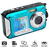 Waterproof Digital Camera 1080P Full HD...