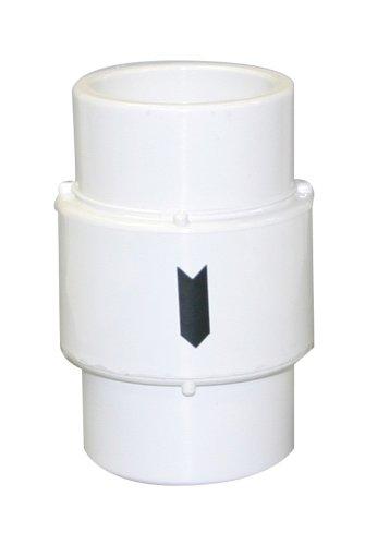 - Valterra 200-15AC PVC Air Check Valve, White, 1-1/2