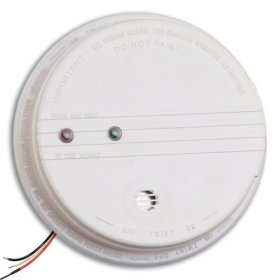 kidde 21006371 p12040 smoke detector 120v hardwired photoelectric 9v with back up batterylot of. Black Bedroom Furniture Sets. Home Design Ideas