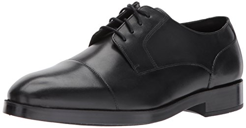 Cole Haan Mens Henry Grand Blucher Cap Oxe Oxford Svart / Svart
