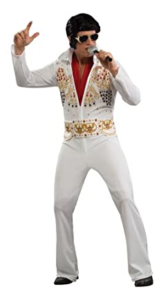 60s -70s  Men's Costumes : Hippie, Disco, Beatles Rubies Costumes Mens Elvis Adult Costume  AT vintagedancer.com