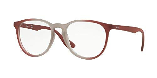 bad9ec8f9 ... where to buy ray ban womens rx7046 eyeglasses light brown on brordeaux  gradi 51mm 7cbf7 cbf88 ...