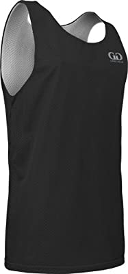 AP993Y Youth Boys and Girls Tank Top Jersey-Uniform is Reversible to White