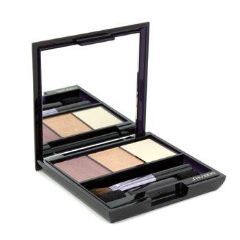 Shiseido Eye Care 0.1 Oz Luminizing Satin Eye Color Trio - # Rd299 Beach Grass For ()