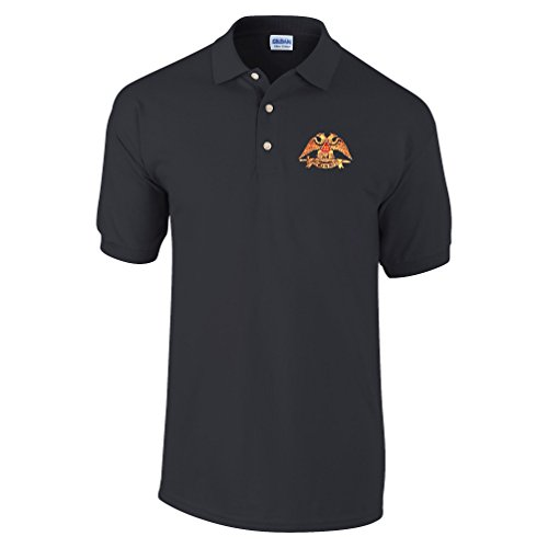 - Scottish Rite 32nd Degree Masonic Personalized Polo Shirt