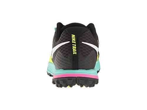 Nike Menns Luft Zoom Wildhorse 4 Kjører Trail Sko - Mørk Grå / Svart Multi