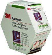 3M Scotchmate Hook and Loop Fastening System, White, 1-Inch by 4.9-Yard