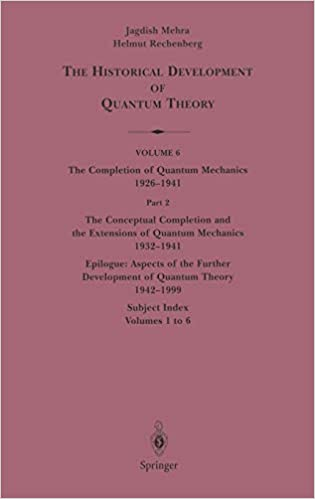 The Completion of Quantum Mechanics 1926–1941