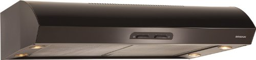 36 inch range hood black - 6
