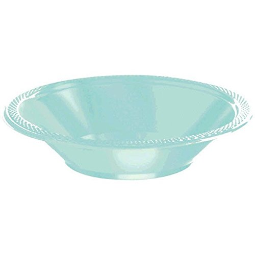 Sevens Costumes Ideas (Amscan Party Perfect Cool Round Dinner Plates (20 Piece), Robin'S Egg Blue, 7 x 7