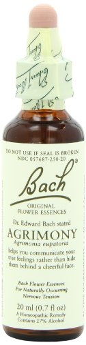 Bach Original Flower Essences, Agrimony 20ml