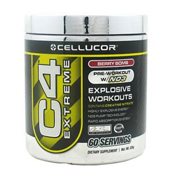 Cellucor C4 Extreme Berry Bombe 60 portions 336g