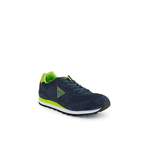 Blu LEA12GJNAVY Blu Jeans Sneakers Uomo Guess FMCHA1 LEA12GJNAVY EH061FMCHA1 pqXTIPw
