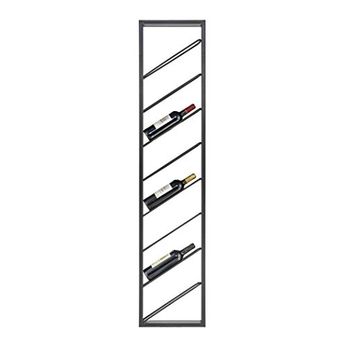 Sterling Home 3187-013 Wavertree Hanging Black-Angled Wine Rack,
