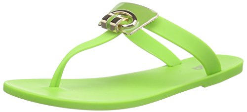 Casa di Stella Pskalea - Sandalias de Dedo Mujer Verde - verde (verde)