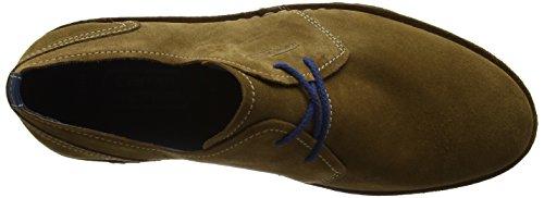 camel active Delta 50, Zapatos de Cordones Derby para Hombre Marrón (11 tobacco)