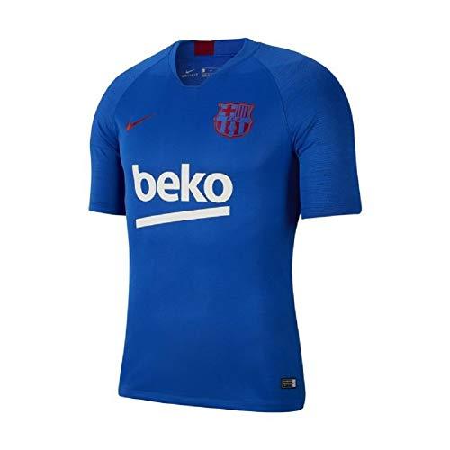 Nike 2019-2020 FC Barcelona Breathe Strike Top (Lyon Blue) ()