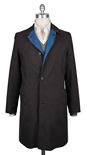 Reversible Silk Coat (Kiton Brown Reversible Raincoat 46/56)
