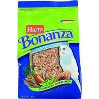 t Parakeet Bird Food - 4lb (Bonanza Parakeet Gourmet Diet)