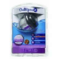 Culligan WSH-C125 Wall-Mounted Filtered Shower Head with Massage, Chrome Finish