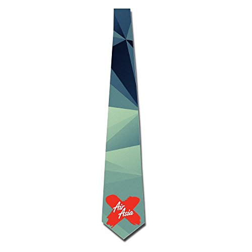 gigifashion-mens-airasia-x-logo-skinny-tie-white