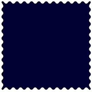 product image for SheetWorld 100% Cotton Percale Fabric by The Yard, Solid Navy Woven, 36 x 44
