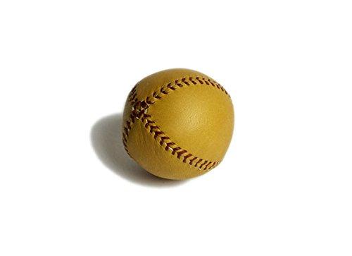 Lemon Peel Baseball (Lemon Ball Baseball. Tan Horween Glove Tan Leather, Red Stitch Lb-Gtan-Red)