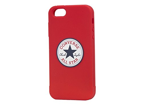 Converse Back Case - Silicone - Apple iPhone 5/5S - Converse Red