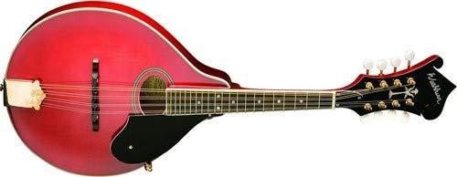 Washburn, 8-String Mandolin, Trans Red (M1SDLTR-A)