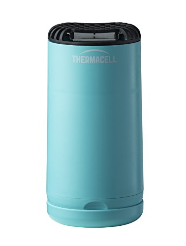 Thermacell Appliance - Thermacell Patio Shield Mosquito Repeller, Glacial Blue; Easy to Use, Highly Effective; Provides 12 Hours of DEET-Free Mosquito Repellent; Scent-Free, No Spray, No Smoke and Cordless
