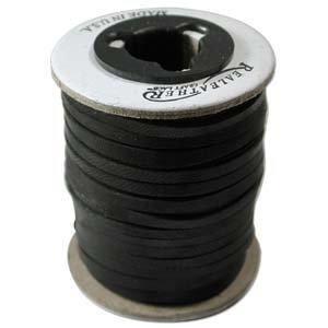 Deerskin Lace Cord Leather String 5 Feet 1/8 Inch BLACK (Black Deerskin Leather)
