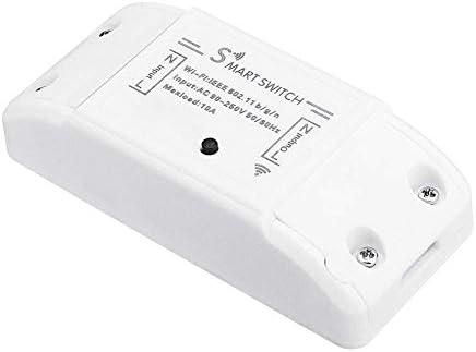 WXQ-XQ WiFiのAC 90-250VリレーモジュールDIYスマートホームオートメーションライトスイッチスイッチ調光器
