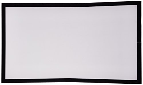 (Draper Accuscreens Fixed Gray Projection Screen (82-inch, 16:9 Ratio))