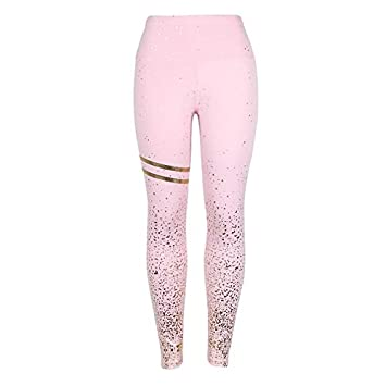 Amazon.com : MORAHUA Women Starry Printed Gradient Sport ...