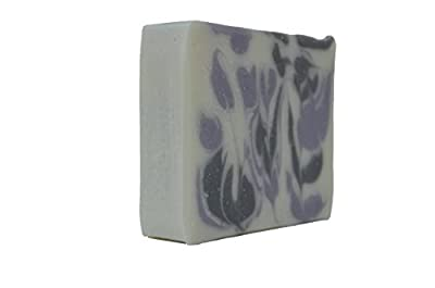Handmade, Organic Lavender Soap Bar; long-lasting with essential natural oils; large 4.5 ounce bar