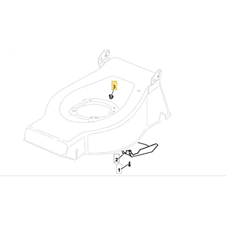 Mountfield Lawnmower Deck Rubber Insert Part No.322291150//0