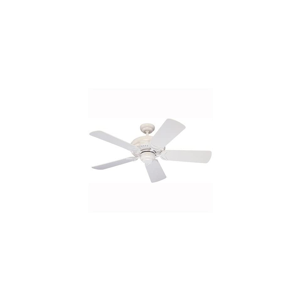Monte Carlo Fan Company 5DS44WH 44 Designer Supreme Ceiling Fan in