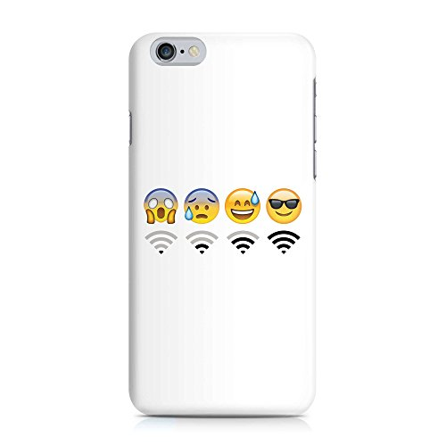 Cover Emoji Smiley WIFI Handy Hülle Case 3D-Druck Top-Qualität kratzfest Apple iPhone 6 / 6S